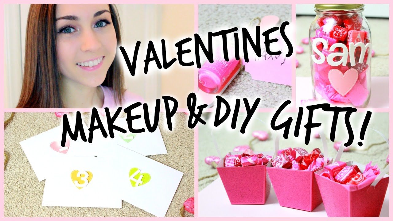 Valentines Day Makeup Easy DIY Gifts YouTube