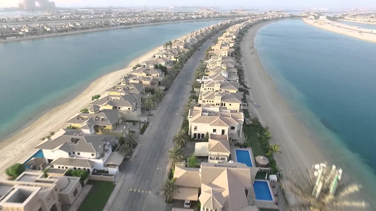 Palm Jumeirah frond M - YouTube