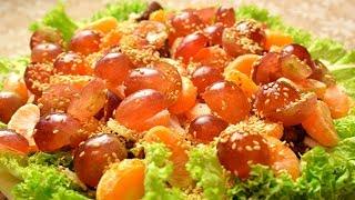 """Печеночный Салат """"Сытный""""  Видео Рецепт Недорогих Блюд На Праздничный Стол . Мамины рецепты"""