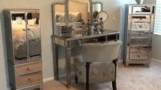 """Hayworth vanity"" and makeup storage"