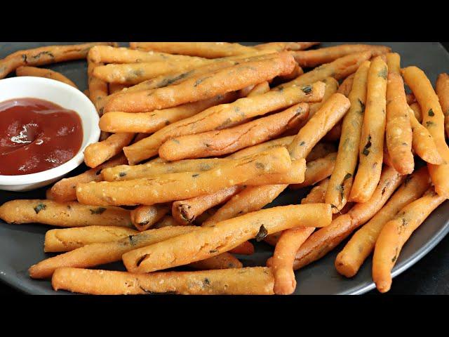 10 ని||ల్లో బియ్యంపిండితో ఇలా ఫింగర్స్ చేయండి క్రిప్సీ గా నెలరోజులు.. | Rice Fingures | Easy Snack