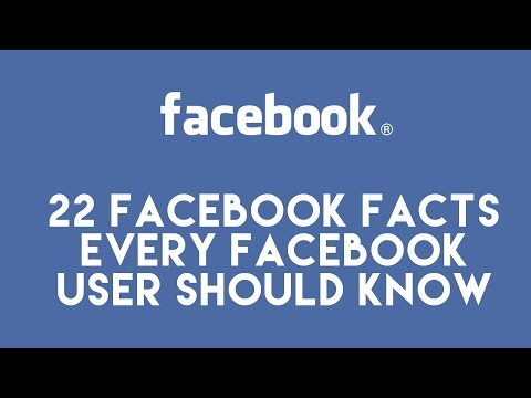 22 Incredible facebook facts you need to know , Interesting Facebook facts