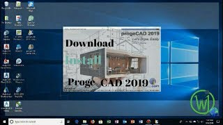 How to Download + Installation Proge CAD 2019 64 bit