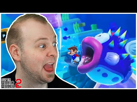 NOONE LIKES THIS FISH!! // Loads Of Awesome Levels [Super Mario Maker 2]
