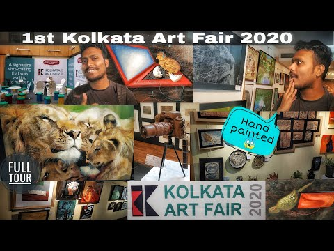1st EVER ART EXHIBITION IN KOLKATA 😱😱| KOLKATA ART FAIR 2020 | INDIAN COUNCIL FOR CULTURAL RELATIONS