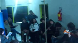 Girasoles de papel (grupo Fusión)