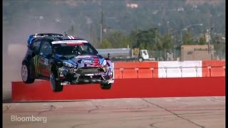 Gambar cover Watch Stunt Driver Ken Block's Jaw-Dropping Skills
