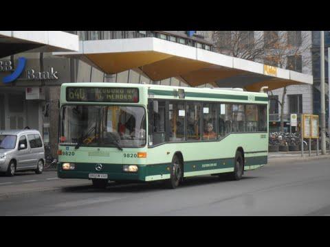 [Sound] Bus Mercedes O 405 N2 (Wagennr. 9820) der Stadtwerke Bonn GmbH