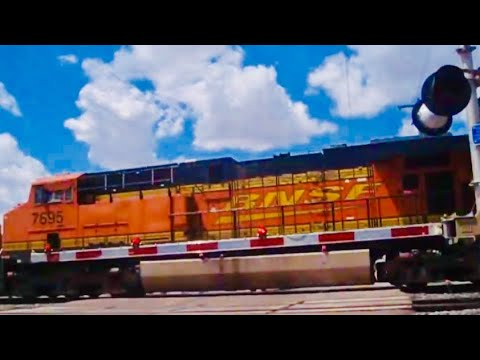 Trains from and around Clovis, NM w/ 2 CSX & 2 UP Locos!