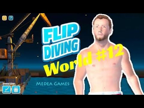 Flip Diving The Crane The Diver - by Miniclip | Gameplay (iOS/Android)