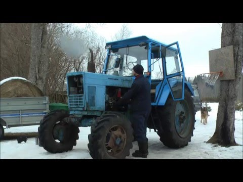 Belarus MTZ-82 restoration project. Part 8 | New Battery and Wires, Oil filter