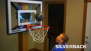 Silverback Junior Basketball Hoop with Lock 'n Rock Mounting Technology