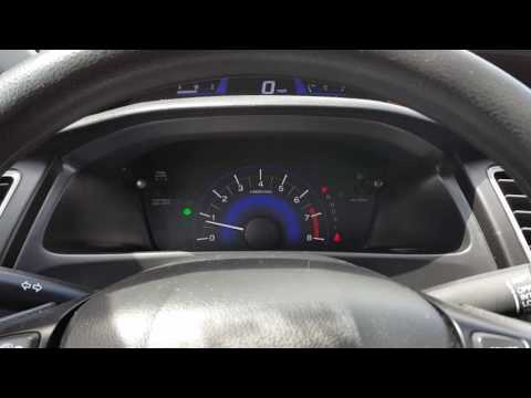 HOW TO RESET TPMS LIGHT LOW TIRE PREASSURE LIGHT ON A 2014 2015 2016 HONDA CIVIC