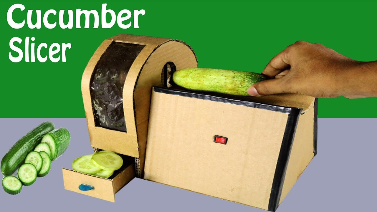 Powerful Cucumber Cutter How To Make Vegetable Cutter Machine Youtube