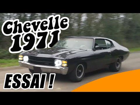 CE SON DE FOU!! - essai Chevelle 1971 V8