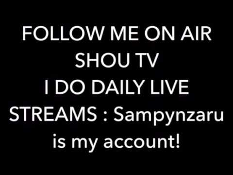 Follow me! On SHOU tv