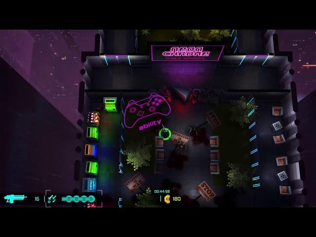 Neon Chrome Overseer Edition