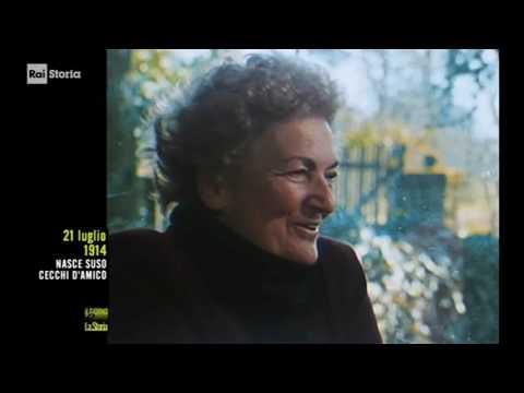 (anniversari-nascita 1914) ** 21 luglio ** Roma: Suso Cecchi D'Amico, sceneggiatrice italiana