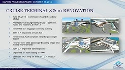 Disney Cruise Terminal 8 Expansion Plans - Port Canaveral Commission Meeting October 31, 2018