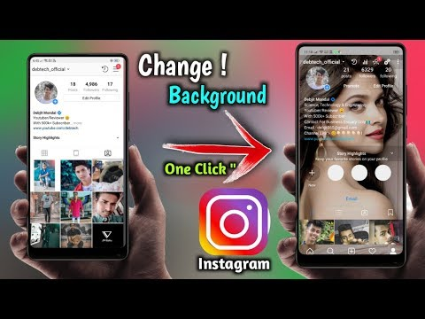 How To Change Instagram Home Screen Background
