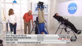 Teeter Hang Ups EP560 Ltd. Inversion Table with Traction...