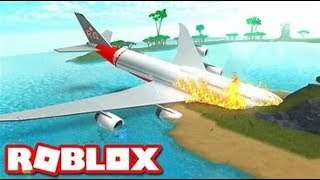 DON'T COME ON THAT PLANE!!! Roblox Airplane