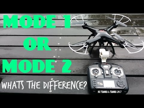 SYMA DRONES MODE 1 Or MODE 2 . Whats The Difference You Say - RC HINTS & TIPS