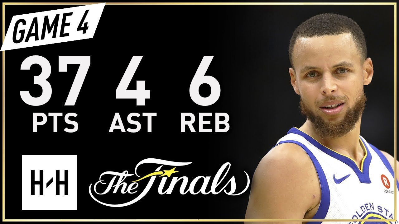 Stephen Curry Full Game 4 Highlights Warriors vs Cavaliers 2018 NBA Finals - 37 Pts, 6 Ast, 4 Reb!