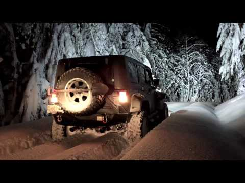 Lolo Pass Snow Run - December 16th, 2016.