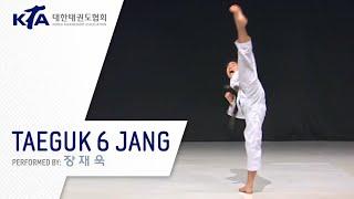 Taeguk 6 Jang (Jang Jae-wook, KTA Korea Taekwondo Association)
