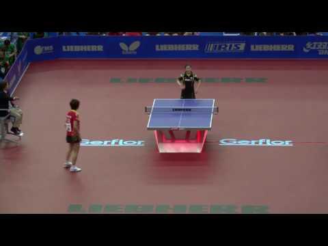 WTTTC-2010. 29 May. ½ Final. Women: JAPAN vs CHINA: Fukuhara vs Ding