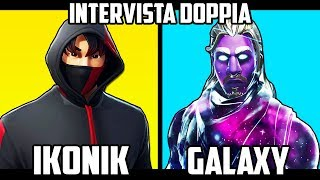 IKONIK vs GALAXY: Quel SKIN VALE PLUS? INTERVIEW ON Fortnite