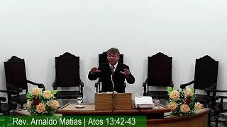 IP Areias  - CULTO | 18h | 04-04-2021 PARTE 2 MENSAGEM