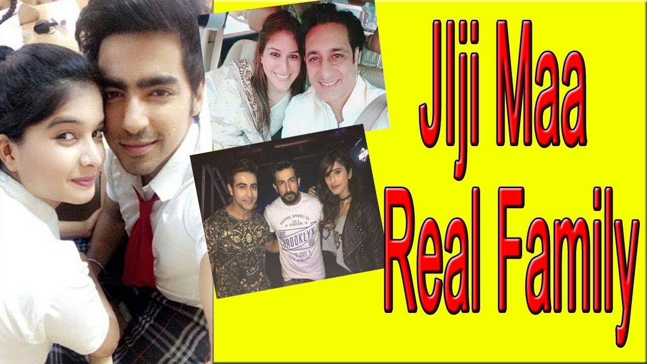 Jiji Maa cast real family & friends