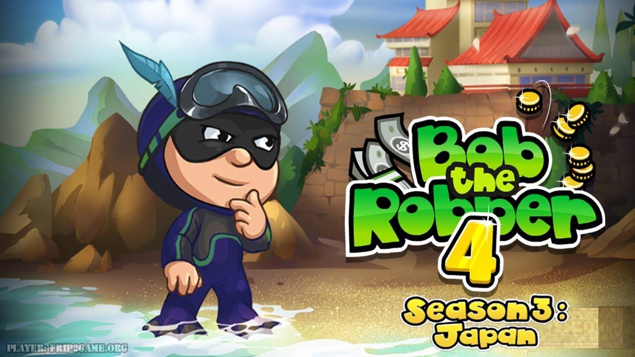 Bob The Robber 4 - Season 3: Japan By Kizi Gameplay ...