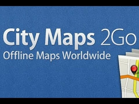 City Maps To Go App of the week   city maps 2 go   YouTube City Maps To Go
