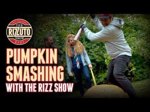 Smashing the Rizz Show pumpkins...Office Space style [Rizzuto Show]
