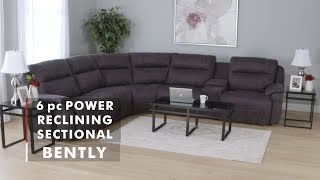 PRODUCT SPOTLIGHT: BENTLY POWER RECLINING SECTIONAL | WG&R  Furniture