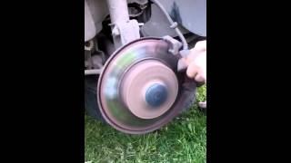 видео Проточка тормозных дисков своими руками