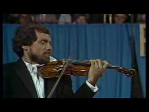 Eugene Fodor - Paganini Violin Concerto no 1 - (part 1 of 4)