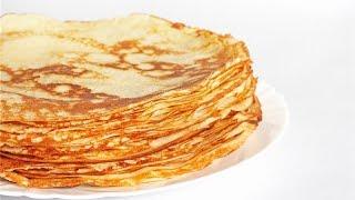 Рецепт блинов на молоке и воде. Простой рецепт блинчиков, которые получаются всегда. Pancakes recipe