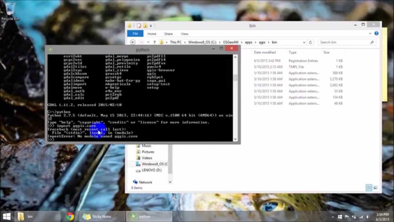 QGIS Python Getting ready to use the QGIS Python API (Version 2 x)