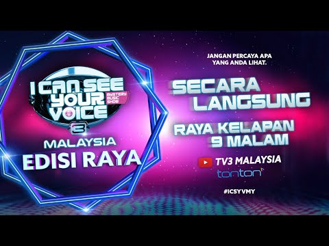 I Can See Your Voice Malaysia Raya
