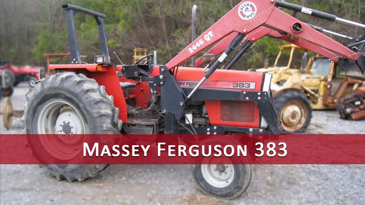 Massey 383 Tractor Parts