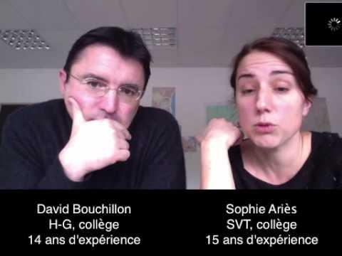 Classe inversée : H-G et SVT au collège (D. Bouchillon et S. Ariès) (version longue)