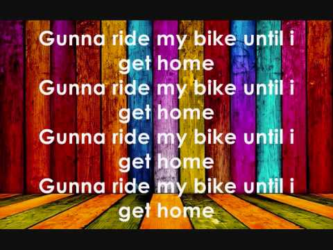 The bike song with lyrics - Mark Ronson