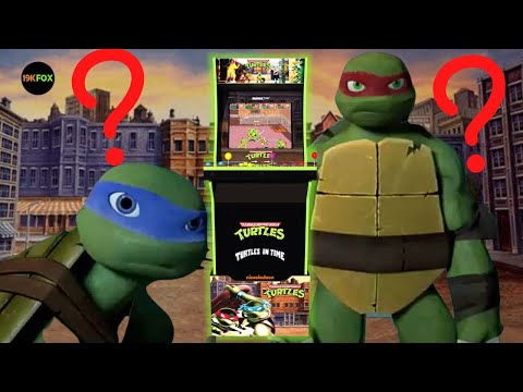 Arcade1up 2 Player TMNT Cab, but WHY? from 19kfox