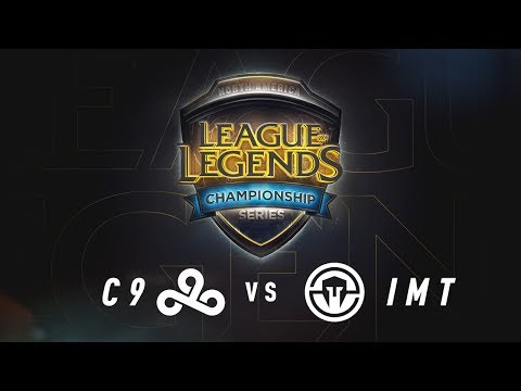 C9 vs. IMT - Week 6 Game 3 | NA LCS Summer Split | Cloud9 vs. Immortals (2017)