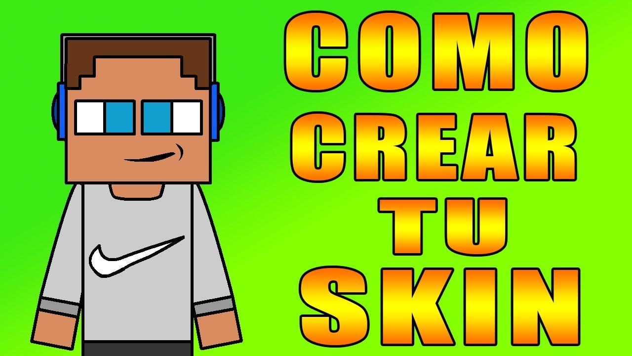 Como Crear Tu Propia Skin En Minecarft Y Usarla No Premium Y Premium - Como crear skin para minecraft 1 8 no premium