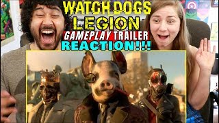 WATCH DOGS: LEGION | E3 2019 Gameplay TRAILER REACTION!!!